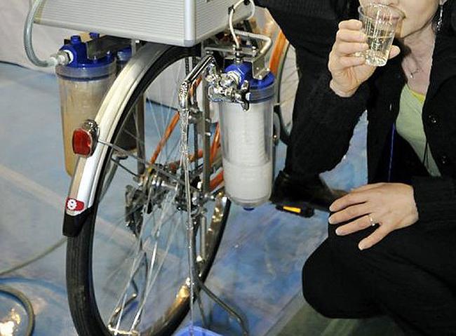 Cycloclean Water Purifying Bike